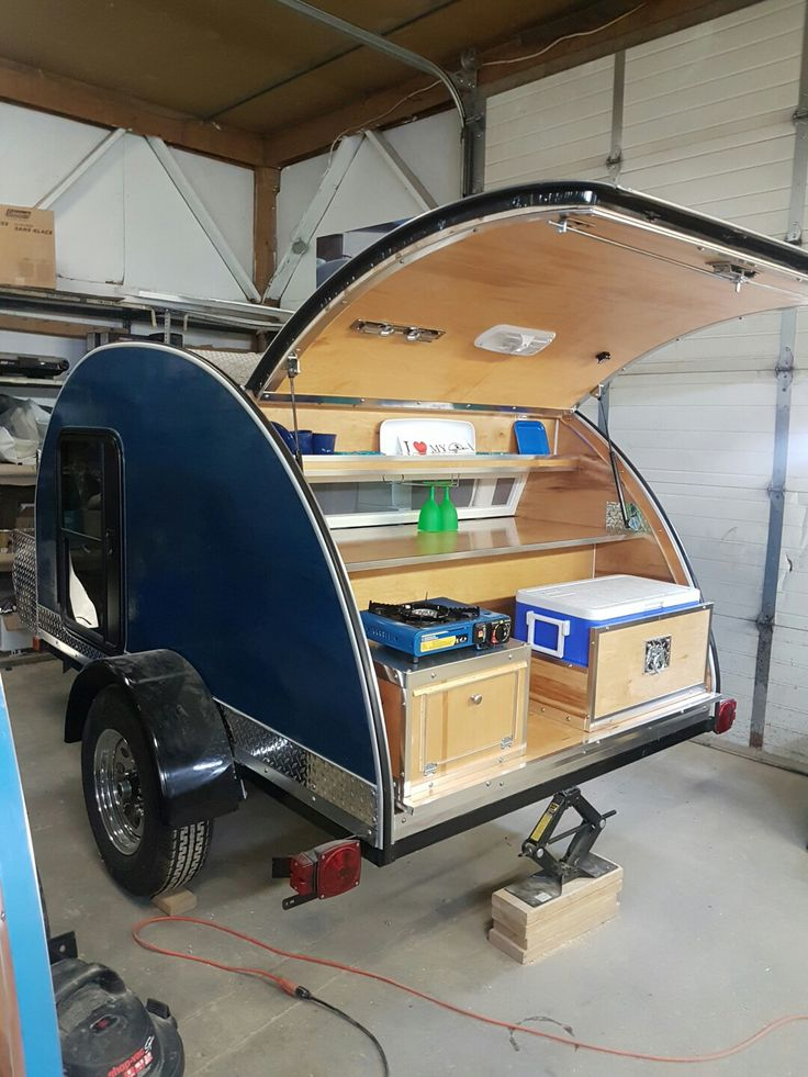 Teardrop Trailer With Bathroom: Pin By The Teardrop Trailer On The Teardrop Trailer