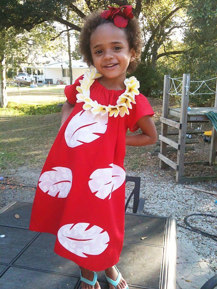 DIY Lilo & Stitch Halloween Costume Idea