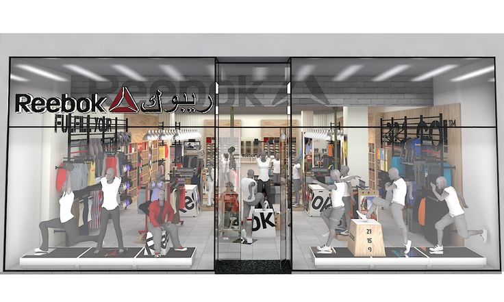 Working for Reebok World Headquarters, TRC are the approved partner to provide dedicated store planning, design and visualisation services globally. TRC work closely with the international market managers in order to establish their specific retail implementation needs. For each store request, both 2D plans and 3D visualisations are created. Here are a few examples of how our process works.  #retail #design #storeplanning #visualisation #visualmerchandising #vm #3d
