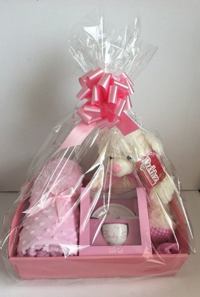 9ed051d7d Baby Girl Gift Basket Baby Hamper Baby Shower Gift New Born Baby ...