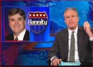 "Jon Stewart Eviscerates Hannity In Intense Feud: ""you're the Arby's of news"""