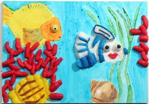Modell Aquarium von fischer TiP