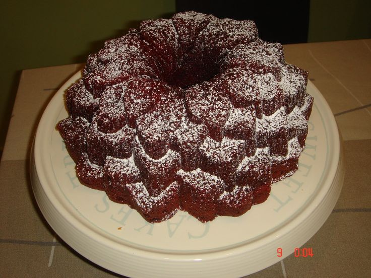 una chispa de dulzura: Red Velvet  Bundt Cake