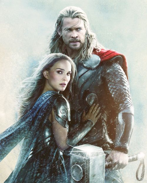 Thor and jane. cutest couple
