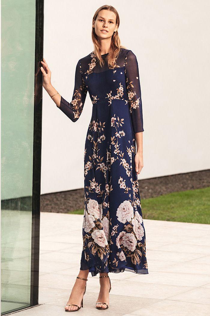 d9d272dfc Winsley Maxi Dress Bloom Print Silk Chiffon in 2019 | Event Dressing ...
