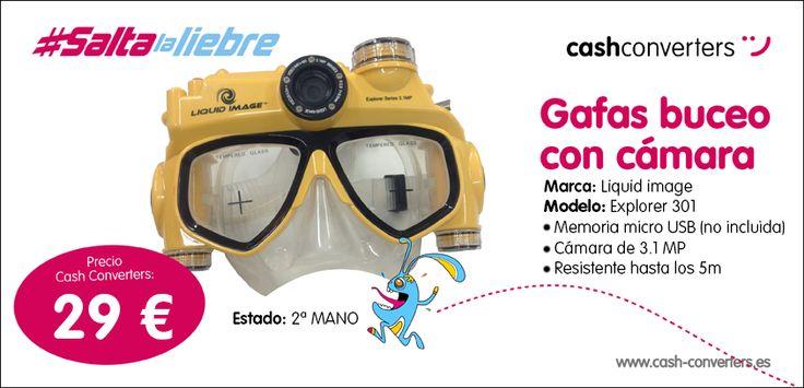#Gafas #Buceo #Cámara #SaltaLaLiebre #LoQuieres?