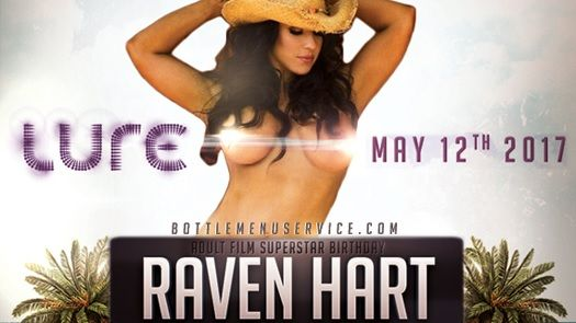 Hollywood LA Nightlife 2017 Nightclubs Events Guide: Raven Hart Adult Star Bday 2017 Club Lure