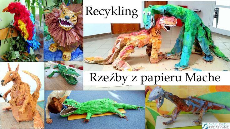 Papier Mache i recykling 10 pomysłów