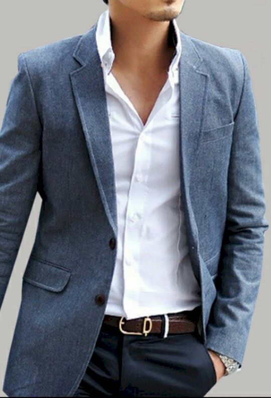25  best ideas about Blazer outfits men on Pinterest | Mens ...
