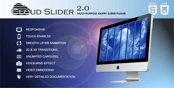 awesome Cloud Slider - Responsive jQuery Slider Plugin Check more at http://www.freethemeslib.com/cloud-slider-responsive-jquery-slider-plugin/