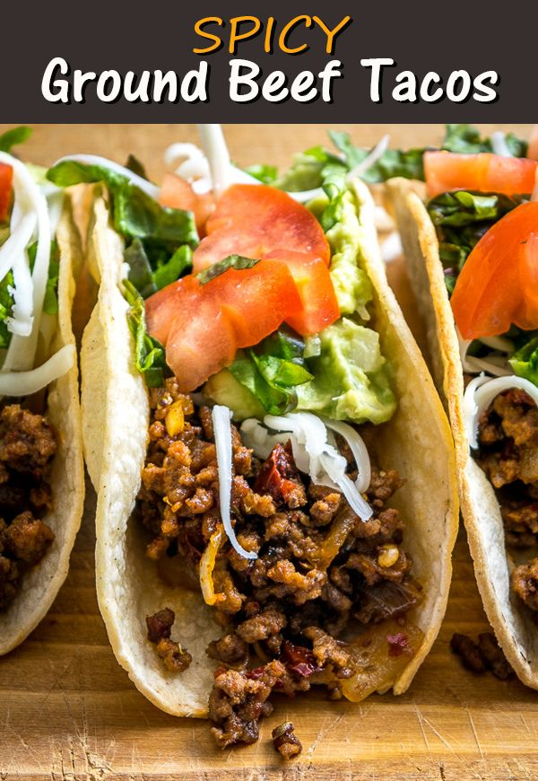 Ground Beef Hardshell Tacos In 2020 Ground Beef Tacos Tacos Beef Ground Beef