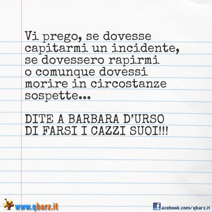 Lettera a Barbara d'Urso - Foto divertente