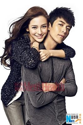 Angelababy and Ko Chen-tun