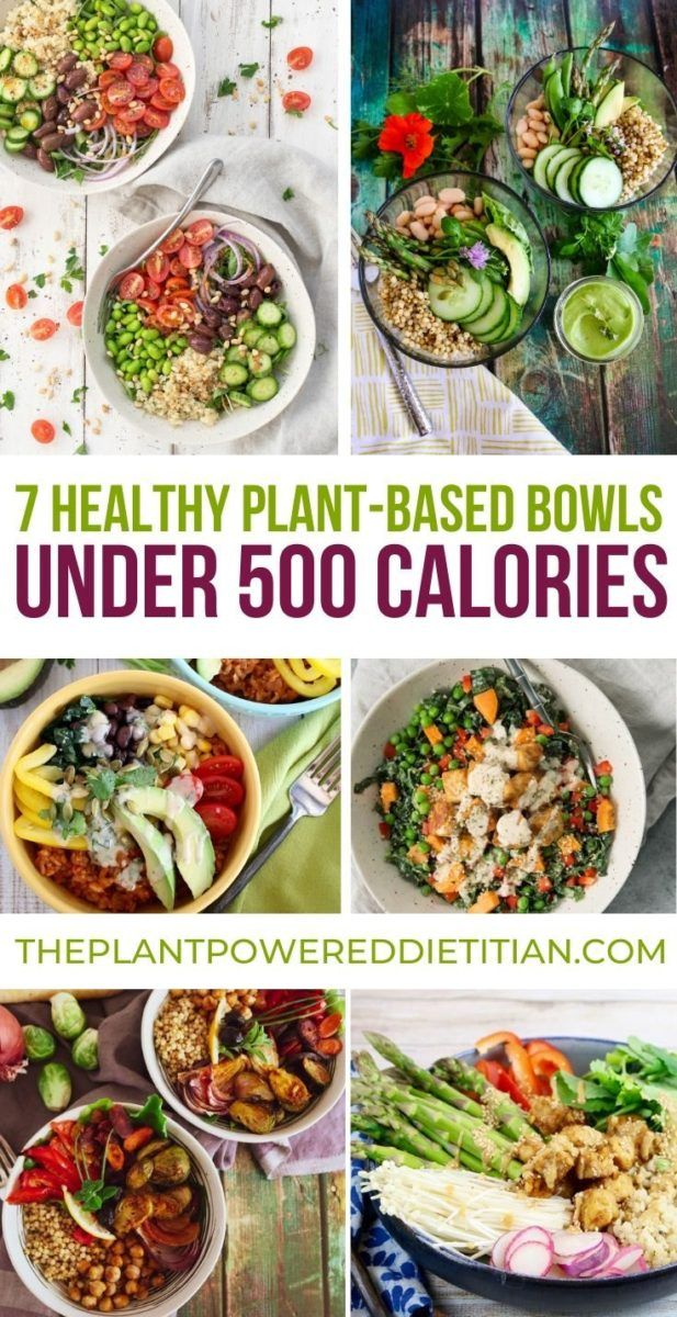 Top 7 Healthy Plant Based Bowls For 500 Calories Sharon Palmer The Plant Powered Dietitian Plant Based Recipes Easy Healthy Plant Based Recipes Healthy Bowls Recipes