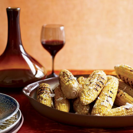 Grilled Corn with Aleppo Pepper Aioli // More Corn Dishes: http://www.foodandwine.com/slideshows/corn