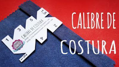 El calibre para costura es otra herramienta que no puede faltar en nuestro costurero. Con el podemos trazar fácilmente los márgenes de...