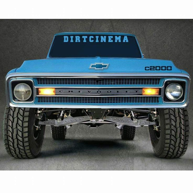 Chevy trophy truck