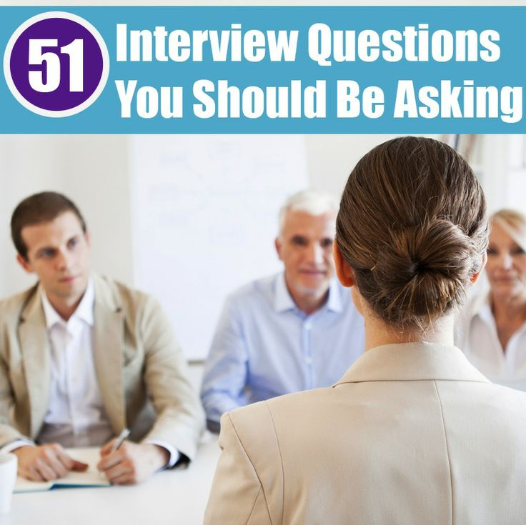 51 interview questions you should be asking - Management Interview