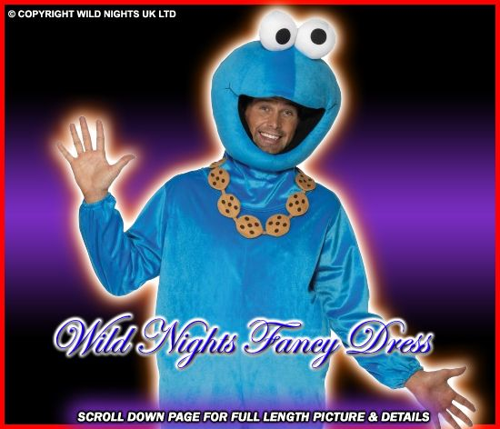 Image result for cookie monster costume