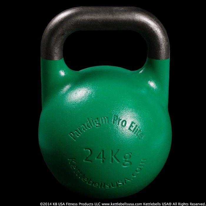 24 kg - 53 lb Paradigm Pro® Elite Precision Steel Competition Kettlebell - Free Shipping on all Kettlebells! #kettlebells #rkc #girya #crossfit #crossfitgear #crossfitgames #strength #strongfirst #fitness #fitnessmotivation #crossfitgirls #kettlebellsport #russiankettlebells #gymrat #gymlife #gymtime #fitnessmodel #fitnessaddict #fitnesstips #cardio #endurance #weightloss #weightlosstips #weightlossjourney #fatloss #noexcuses
