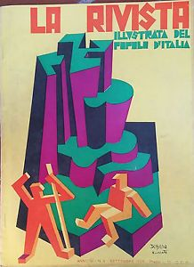 Cover by Fortunato #DEPERO