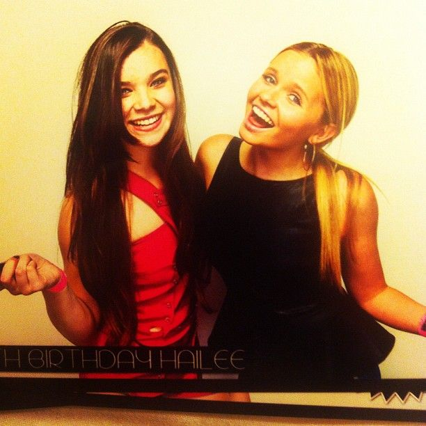 #AlliSimpson #HaileeSteinfeld #HaileeSweet16 #fashion #BirthdayParty #HappyBirthday Shout Out…! to @angiesimpson5 for psoting this way cute pic of Alli, Alli and Hailee Steinfeld to her instagram page… We all should be following Ang… :-)     angiesimpson5Happy 16th Birthday Hailee ❤@allisimpson @haileesteinfeld