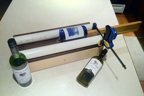 DIY glass bottle cutter