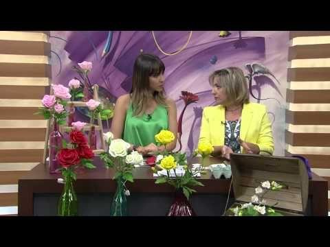 Mulher.com 26/08/2014 - Rosas de Biscuit por Alessandra Assi - YouTube