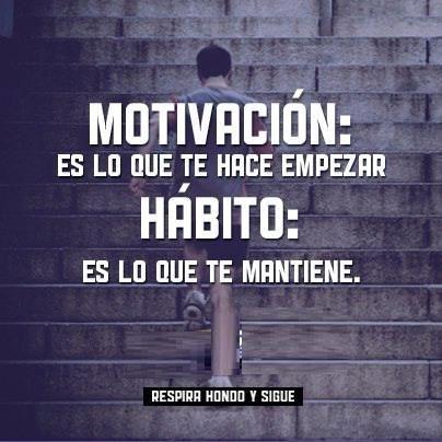 Una persona no es lo que hace si no los hábitos que adopta. Adopta hábitos saludables. blog.manuelnavio.com