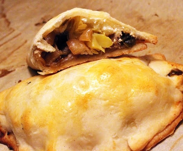 ... Anne: Caramelized Onion, Artichoke Heart and Goat Cheese Turnovers