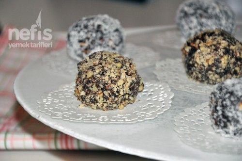 Çikolatalı Top Tarifi - Nefis Yemek Tarifleri http://www.nefisyemektarifleri.com/cikolatali-top-tarifi/