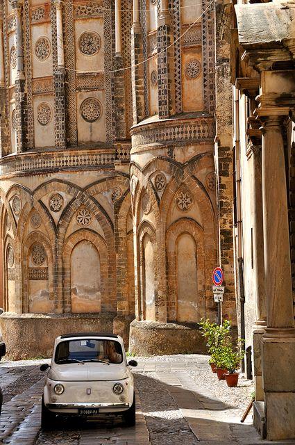 Met alle tijd van de wereld . Monreale (Sicily)