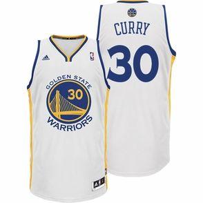 Stephen Curry Jersey: adidas Revolution 30 White Swingman #30