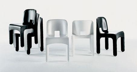 Universal Chair di Joe Colombo per Kartell