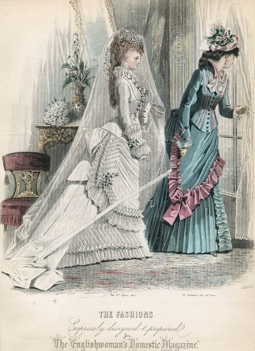 Wedding Dresses Of The 1870s | Lily Absinthe