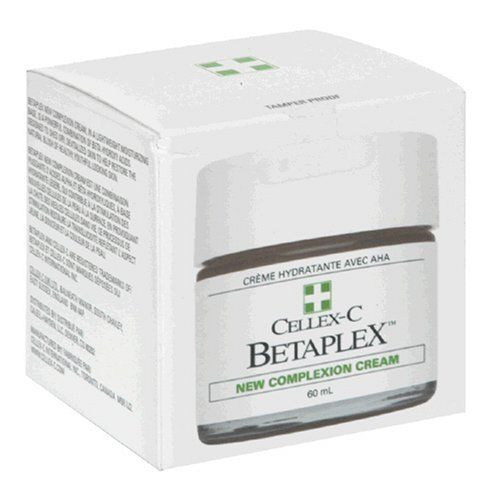 Cellex-C Betaplex New Complexion Cream, 60 ml by Cellex C. $42.35. Helps Stimulate New Skin Cells. Willow Bark Extract;Aloe  Barbadensis Gel;Vitamin E;Chamomile Extract;Primrose Oil. Helps Restore The Natural Blush Of Healthy, Youthful Looking Skin. Light Moisturizing Cream. Betaplex New Complexion Cream, in a lightweight moisturizing base, is a powerful combination of Beta Hydroxy acids designed to shed dry, devitalized skin to help restore the natural blush ...