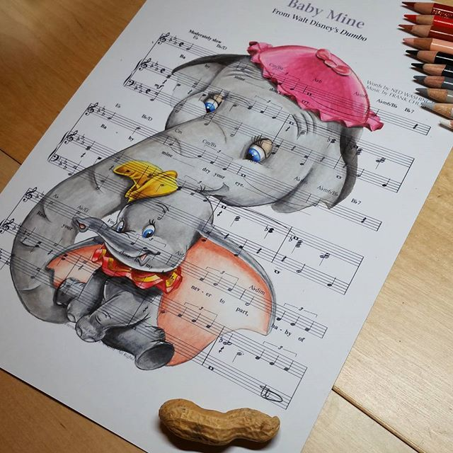 Best 25 Disney Sheet Music Ideas On Pinterest: 25+ Best Ideas About Dumbo Drawing On Pinterest