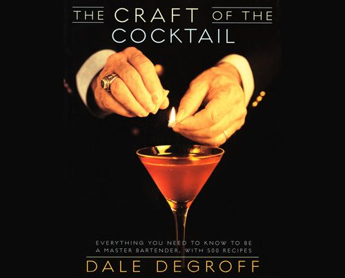 A truly classic bartending book written by King Cocktail Dale DeGroff. Lots of great drink recipes along with history, anecdotes and humor make this a good read and reference for home bar owners.