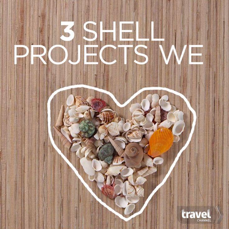 Turn Your Vacation Seashells Into Crafty Keepsakes                              …
