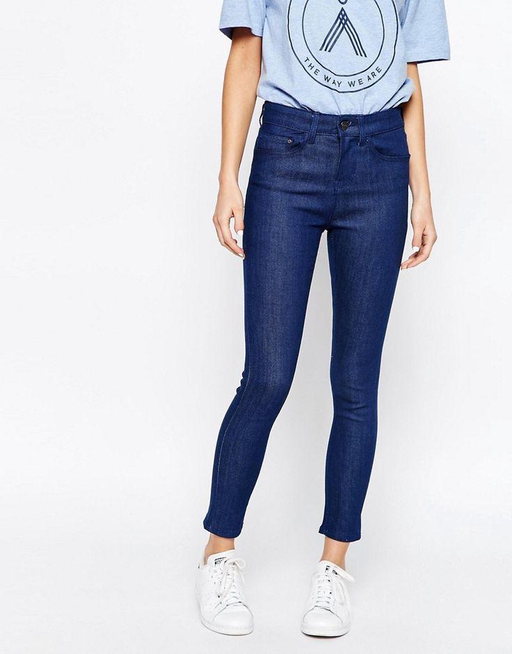 Bild 1 von Waven – Anika – Eng geschnittene Jeans mit hoher Taille