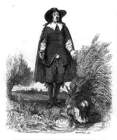 L'Enfant et Le Maître d'Ecole, illustration de Grandville