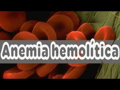 Anemia hemolítica