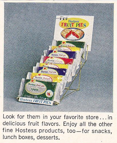 Hostess Fruit Pies Ad 1968 - Rare treat for school field trips