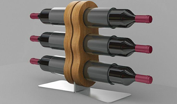 #Espositore #vino in plexiglass per #bottiglie Esigo 11 #portabottiglie #design --- #Winerack #plexiglass #modern #design