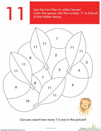 Worksheets: What's Hiding in the Numbers?: 11