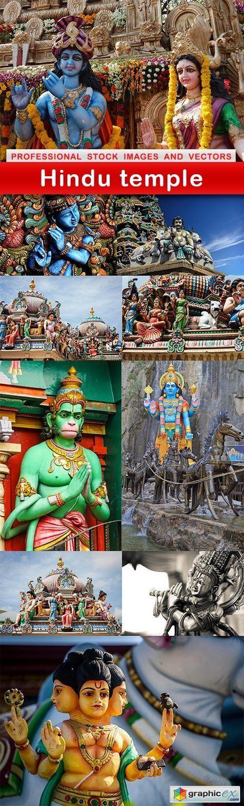 Hindu temple - 10 UHQ JPEG