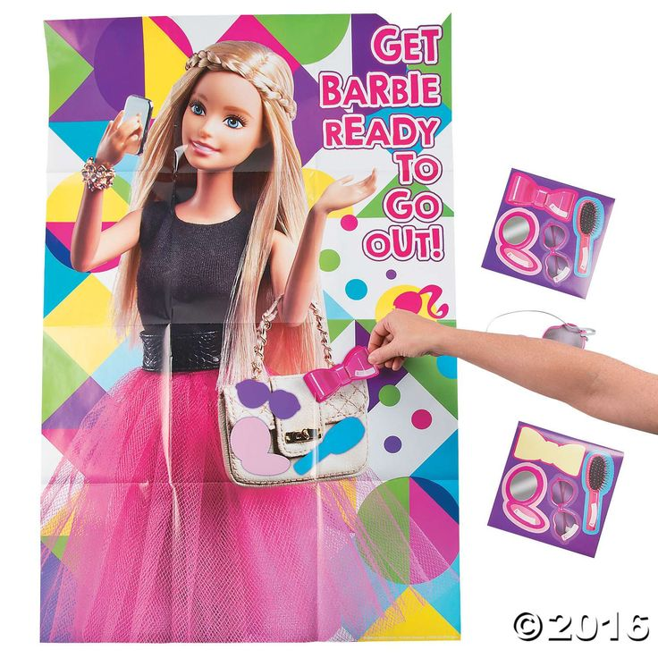 1000+ Ideas About Barbie Party Games On Pinterest