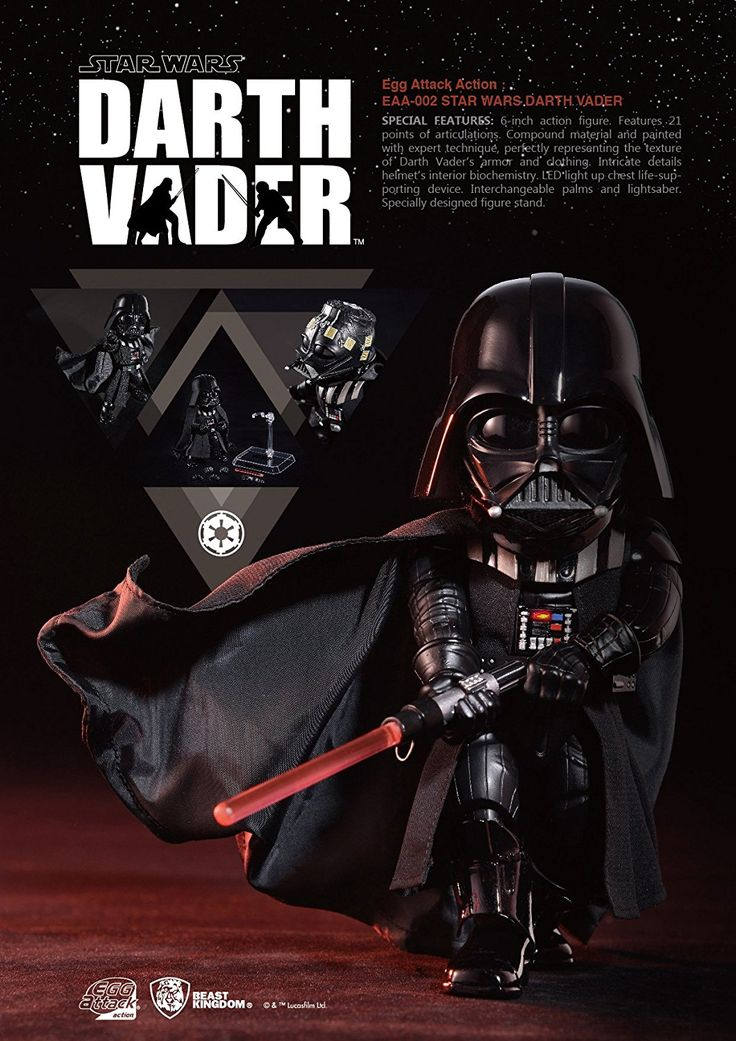 Beast Kingdom Egg Attack Action Darth Vader