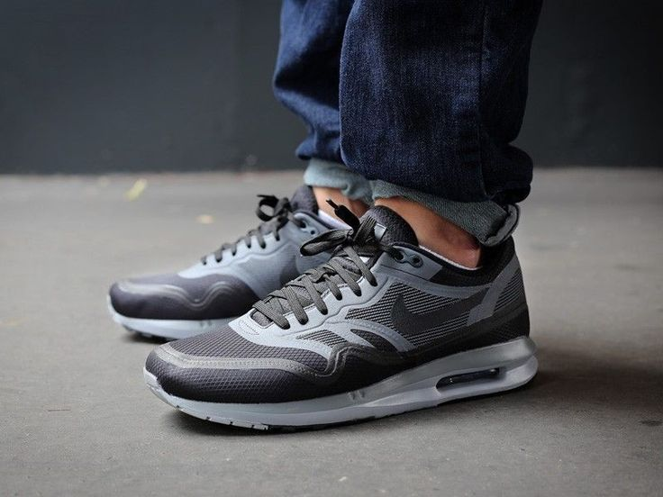 Nike Air Max Lunar 1 WR size 13. Grey Black 654470-001. 95