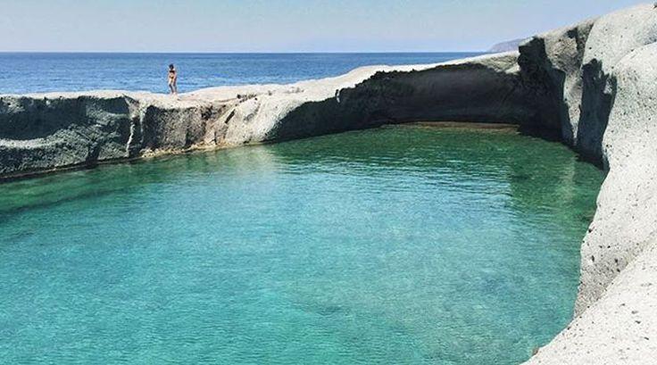 Scopriamo assieme la piscina naturale di Cane Malu a Bosa, circondata dalla roccia e dall'acqua turchese, è il must dell'estate 2015!